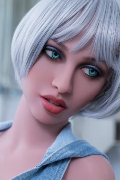 WM Doll 148 cm Body mit L-Cup und Kopf 108 Liebespuppe TPE Doll